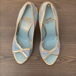 Moschino, powder blue, size 38, worn once.